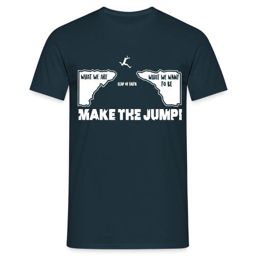 makethejump - Männer T-Shirt