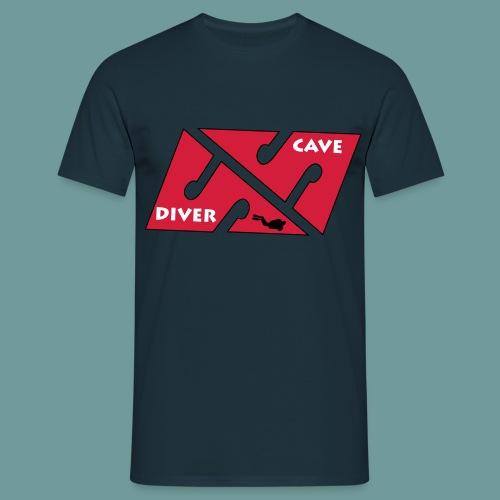 cave_diver_01 - T-shirt Homme