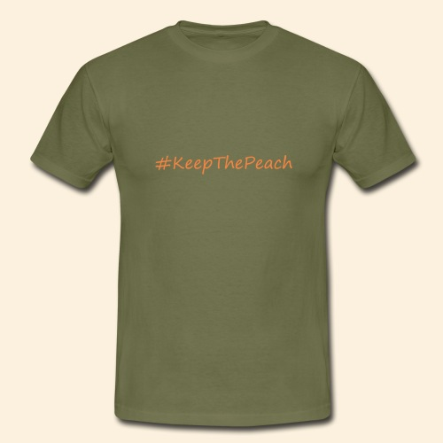 Hashtag KeepThePeach - T-shirt Homme