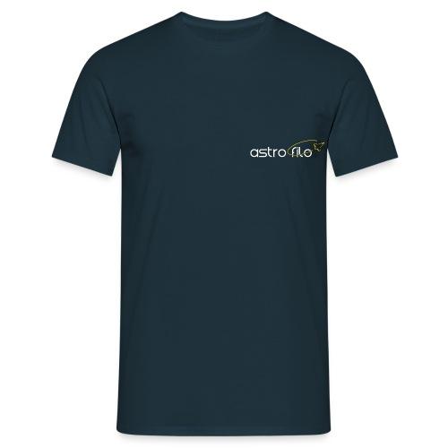 Astro_filo Bianco - Maglietta da uomo