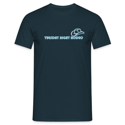 Tuesday Night Rodeo hat - Men's T-Shirt