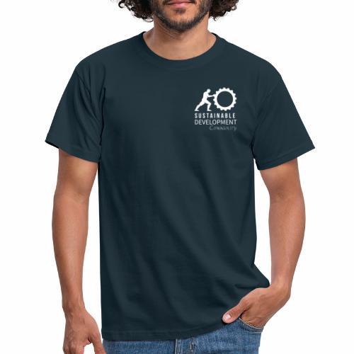 SDCeV Logo Weiss - Männer T-Shirt