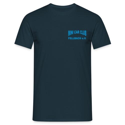 ruecken - Männer T-Shirt