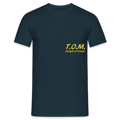 brustlogo1 - Männer T-Shirt