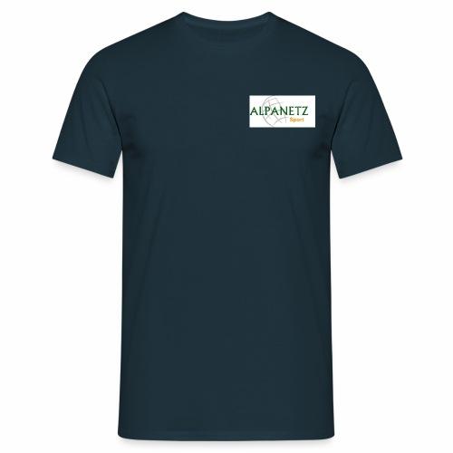 Alpanetz Logo Sport - Männer T-Shirt