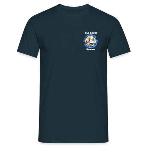 old gaudi dancers dunkler hintergrund png - Männer T-Shirt