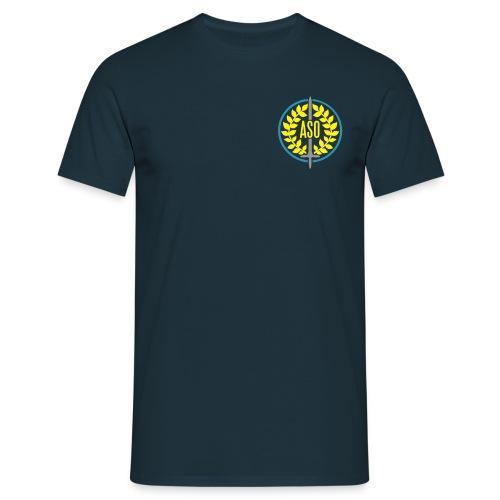logo8cm upload - Männer T-Shirt