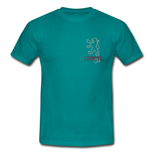 logo peugeot gti club ned - Mannen T-shirt