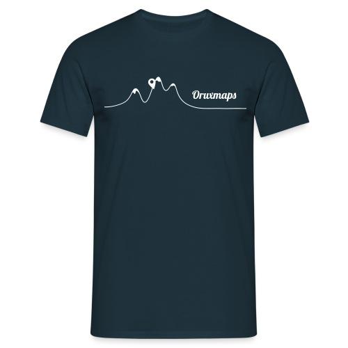 t-shirt ic simple 1 color - Camiseta hombre