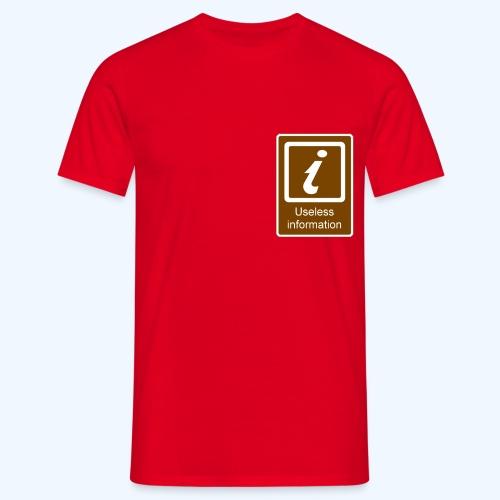 Useless Information - Men's T-Shirt