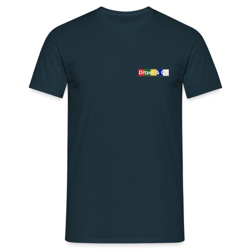ditzel og co logo lille - Herre-T-shirt