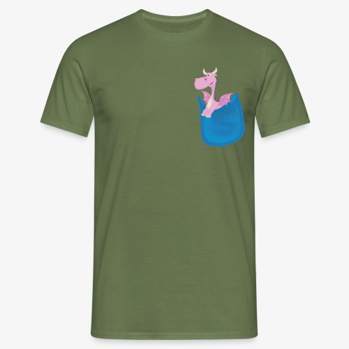 My Pocket Dragon Pal - Men's T-Shirt