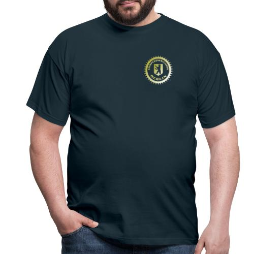Logo klein ESU gold - Männer T-Shirt