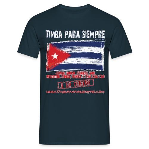 logo front white final3 png - Men's T-Shirt