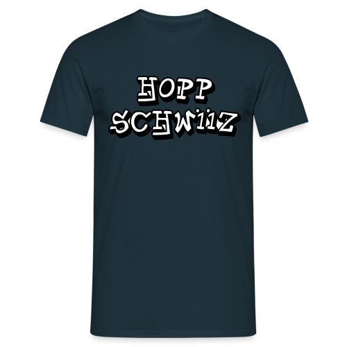 Hopp Schwiiz II - Männer T-Shirt