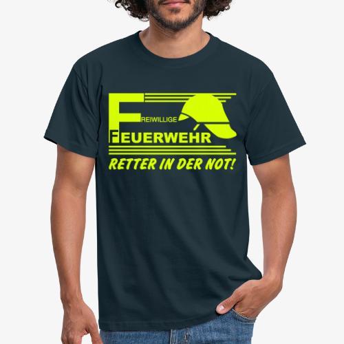 Retter in der Not - Männer T-Shirt