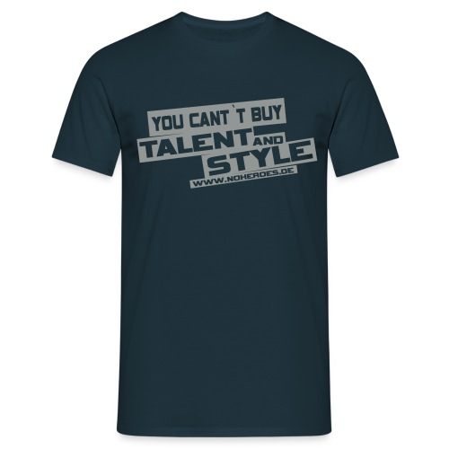 noheroes back svg - Männer T-Shirt