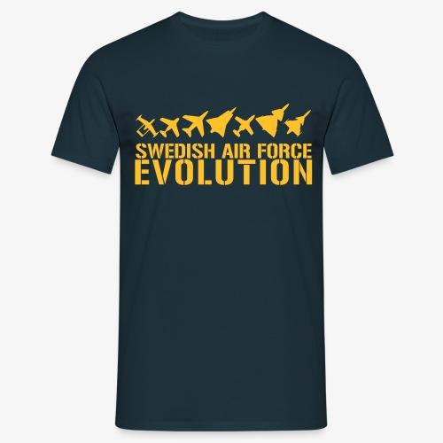 Swedish Air Force Evolution - T-shirt herr