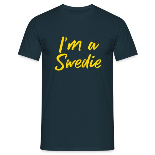 I'm a Swedie - Men's T-Shirt