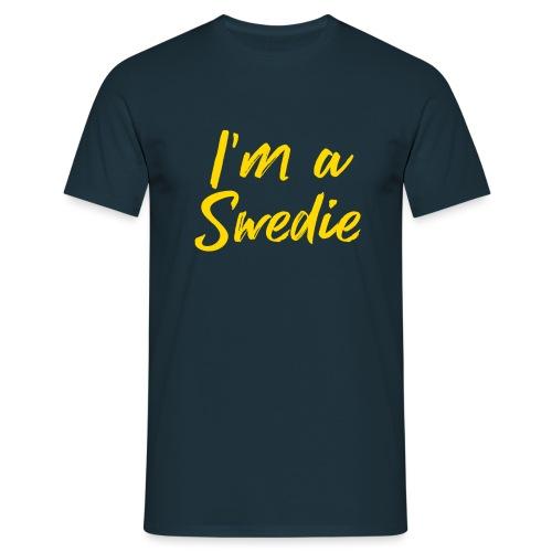 I'm a Swedie - Männer T-Shirt