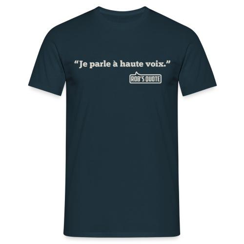 voix png - T-shirt Homme