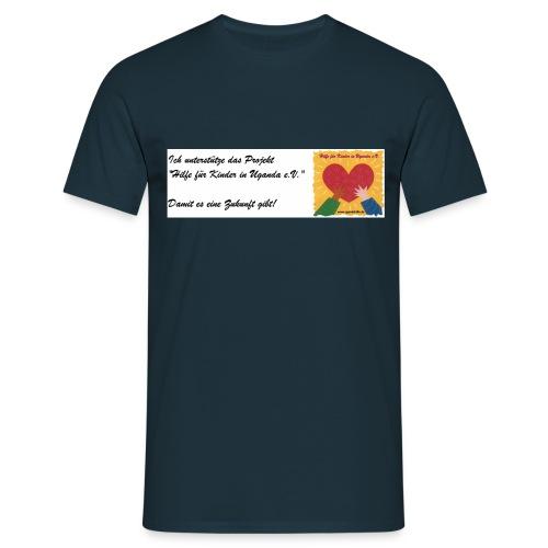 unterstuetzungupload - Männer T-Shirt
