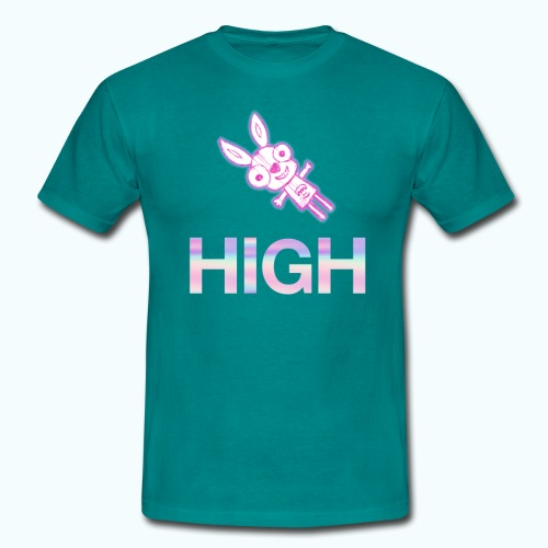 Funny hare drawing - Men's T-Shirt