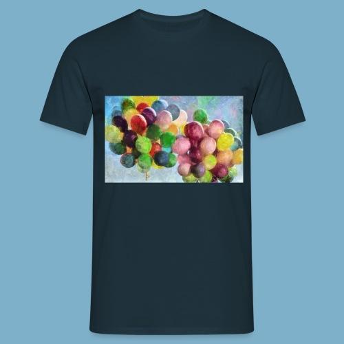 Color balloon - fliegende bunte Ballons - Männer T-Shirt