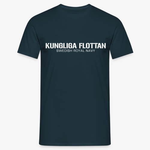 Kungliga Flottan - Swedish Royal Navy - T-shirt herr