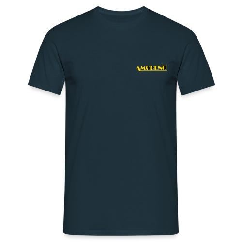 LOGO AMORENO JAUNE CARREA - T-shirt Homme