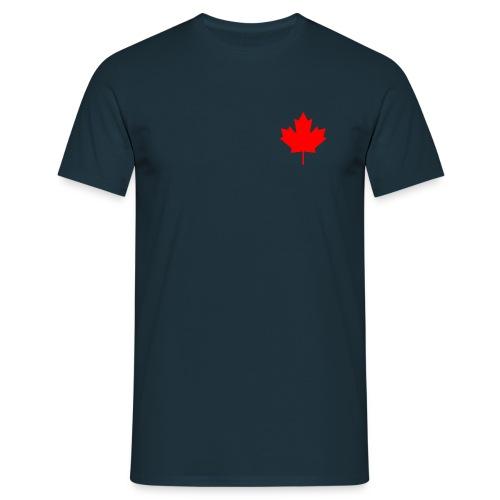 Ahornblatt pur - Männer T-Shirt