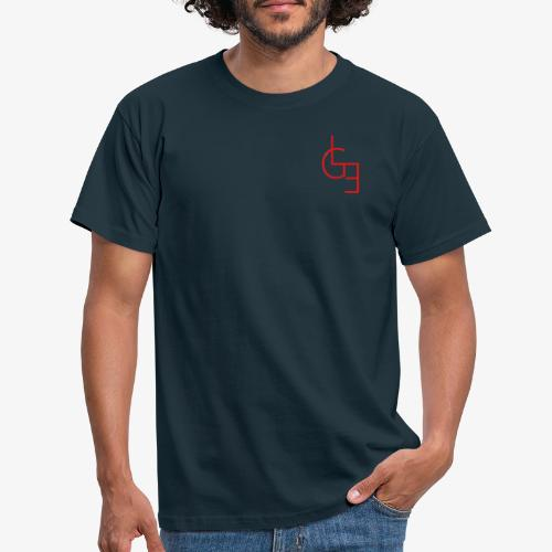 logo rouge png - T-shirt Homme