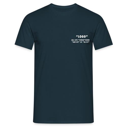 LOGO On WHITE - Maglietta da uomo