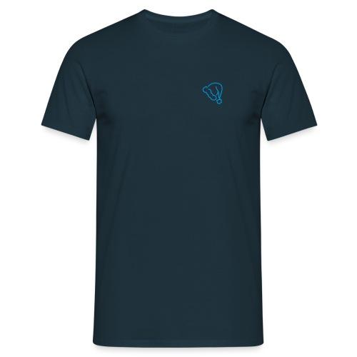 lue - T-skjorte for menn
