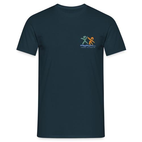dn logo trans - Herre-T-shirt