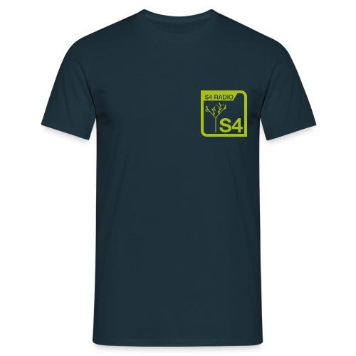 Logo S4-Radio - Männer T-Shirt