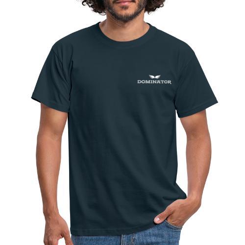 DOMINATOR white logo - T-shirt herr