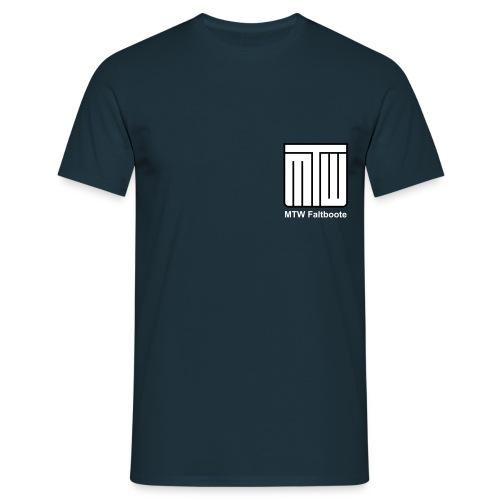mtw logo weisser text spreadshirt - Männer T-Shirt