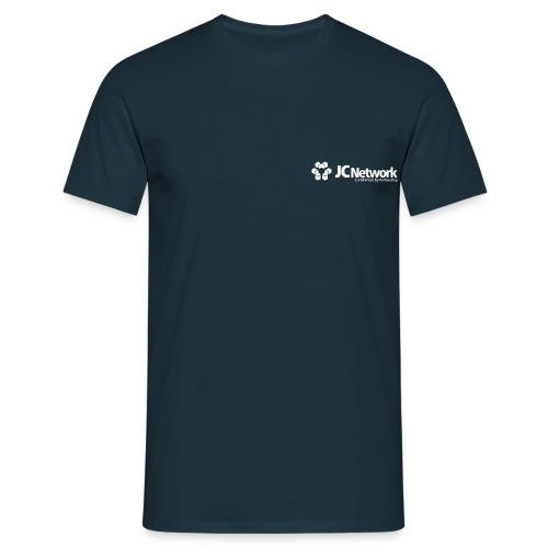 JCNetwork Merchandise weiß - Männer T-Shirt