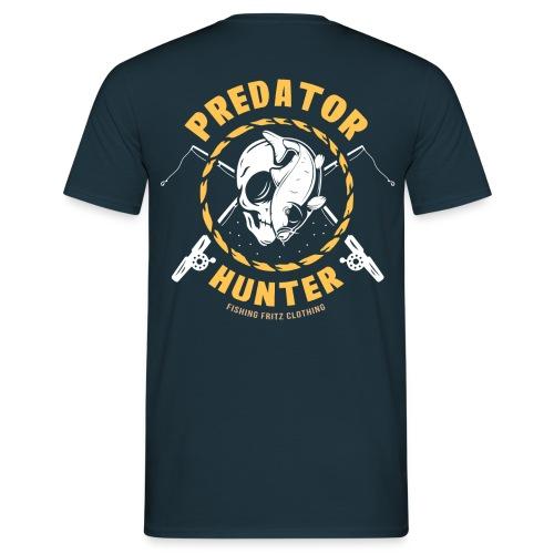 Predator Hunter - Raubfisch Angler - Männer T-Shirt