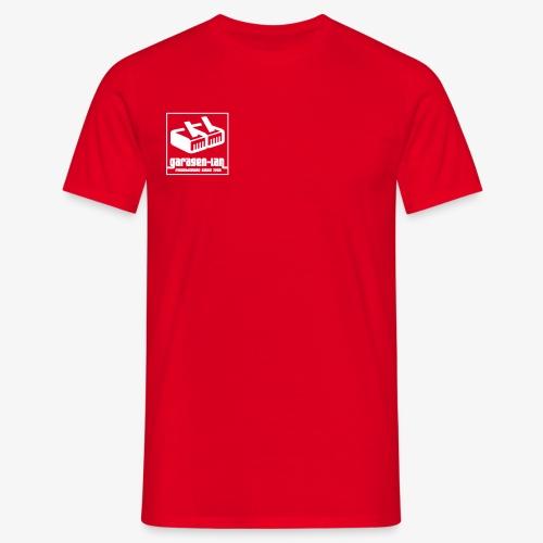Garagenlan invertiert - Männer T-Shirt