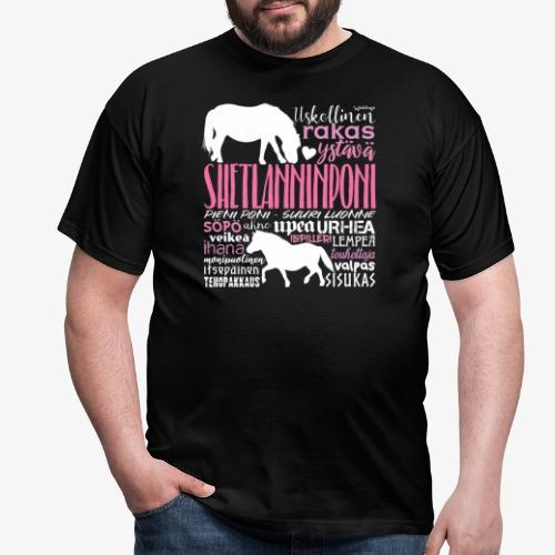 Sheltti Sanat Pink - Miesten t-paita