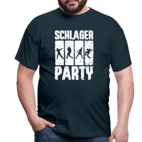 Schlager Party Fan Funshirt Geschenkidee - Männer T-Shirt