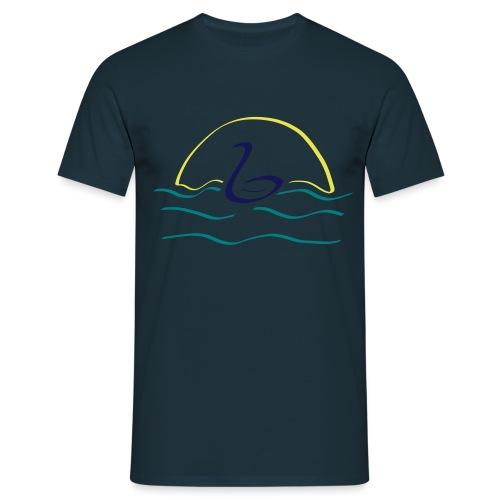 Swan - Mannen T-shirt