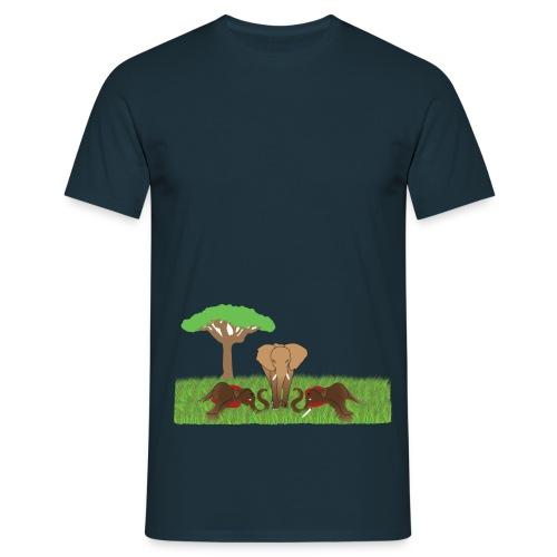 UNAL 02 png - T-shirt herr