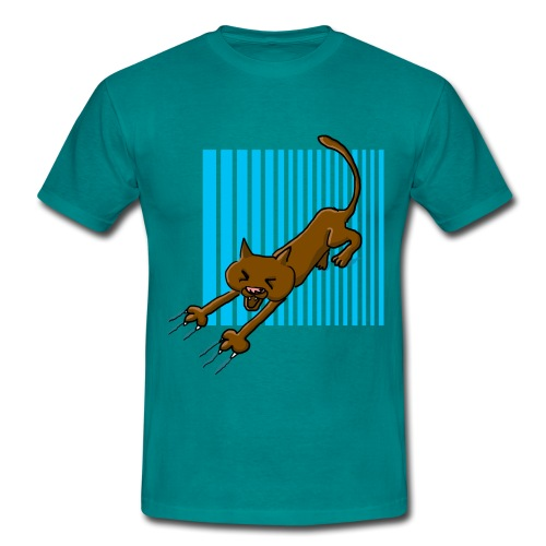 Chat griffes - T-shirt Homme