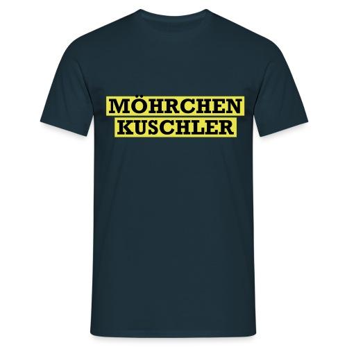 Möhrchenkuschler - Männer T-Shirt