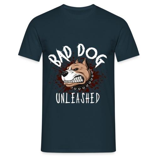 Bad Dog Unleashed - T-shirt herr