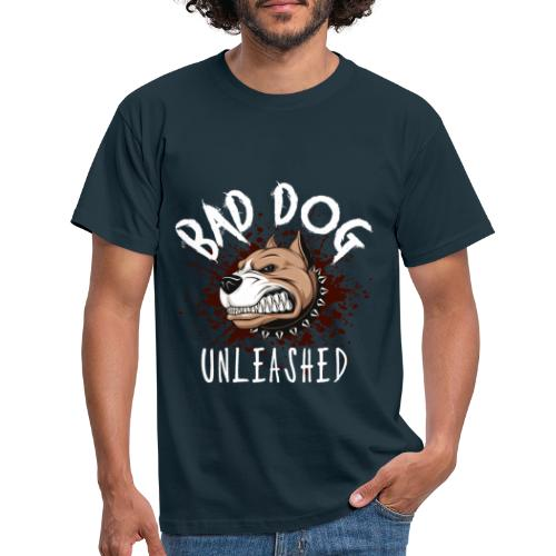 Bad Dog Unleashed - T-shirt herr