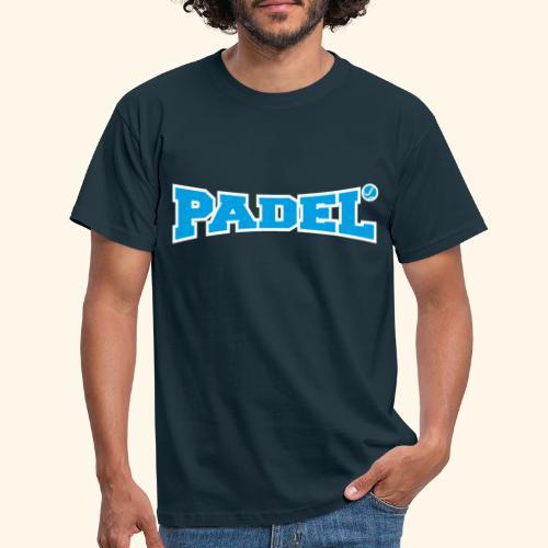 padel azul y blanco - Camiseta hombre